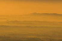 Nebbia colorata