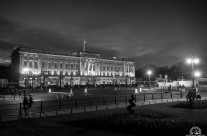 Buckingham Palace bw