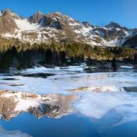 Panoramica lago Viola
