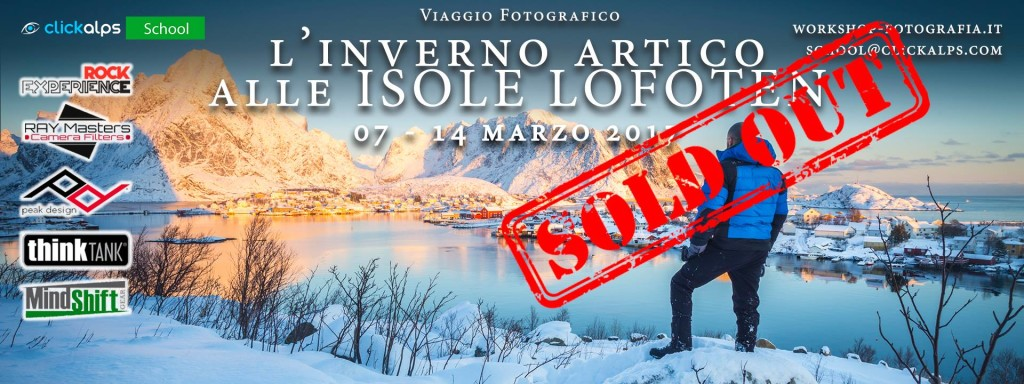 Lofoten sold out