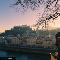 Salisburgo, ultime luci dell'anno