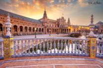 Piazza di Spagna all'alba